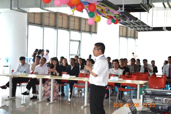 物业公司昆明广场写字楼项目总监 太达宏先生致辞-昆明广场写字楼